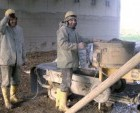 Equipment for repair mortar and micro concrete
